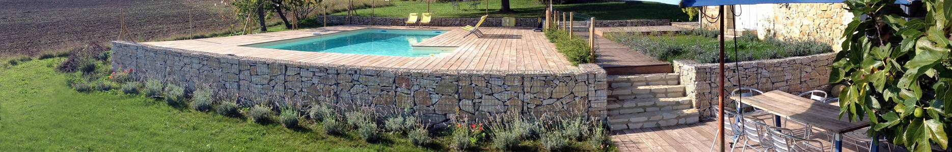 D coration jardin gabion for Decoration jardin gabion