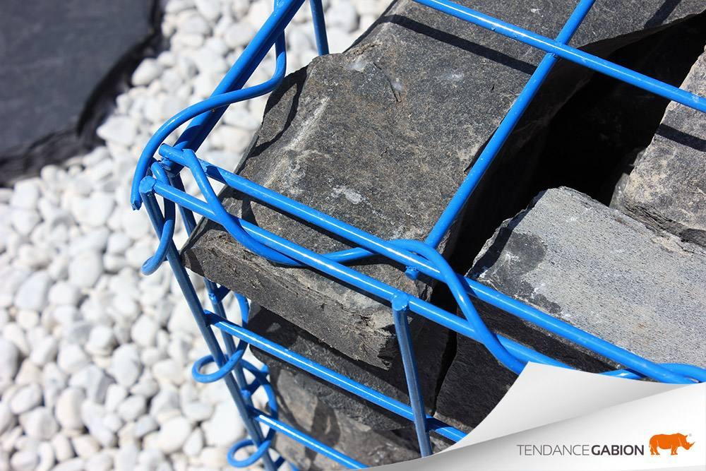 Gabion couleur tendance gabion - bleu clair