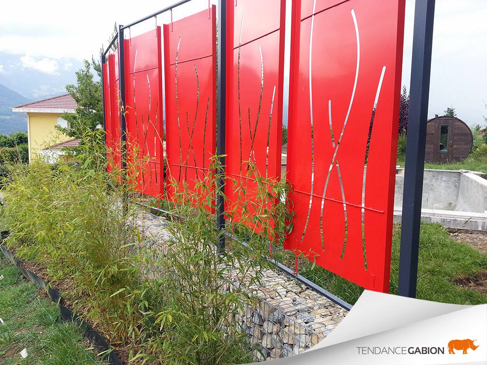 Muret décoratif - Isère