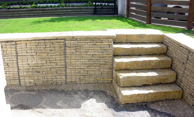 gabion pr rempli pierre mureuse de bourgogne tendance gabion le gabion pro pour tous. Black Bedroom Furniture Sets. Home Design Ideas