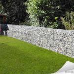 Tendance gabion, petit mur de soutènement