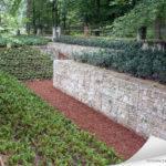Les gabions sont utilisés pour faire des murs de soutenement dans vos jardins