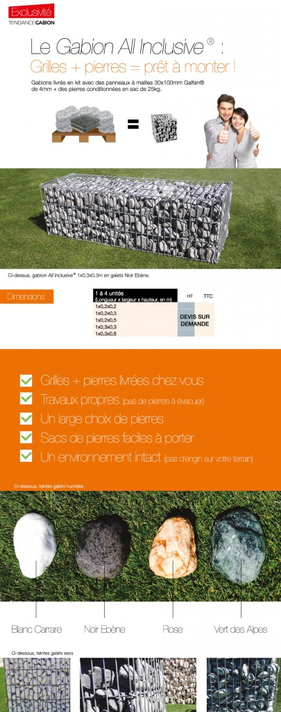 Produit : Le Gabion All-Inclusive®