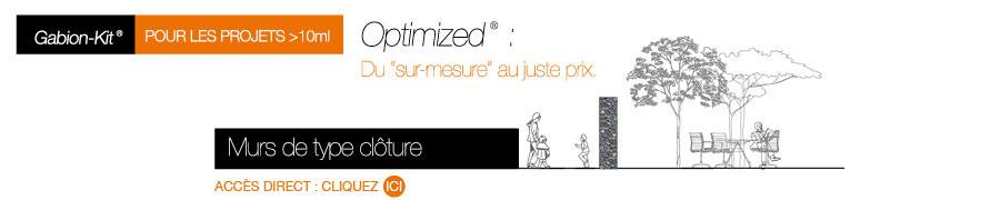 Le Gabion-Kit® Optimized®