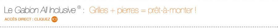 Accès direct : Gabion All-Inclusive®