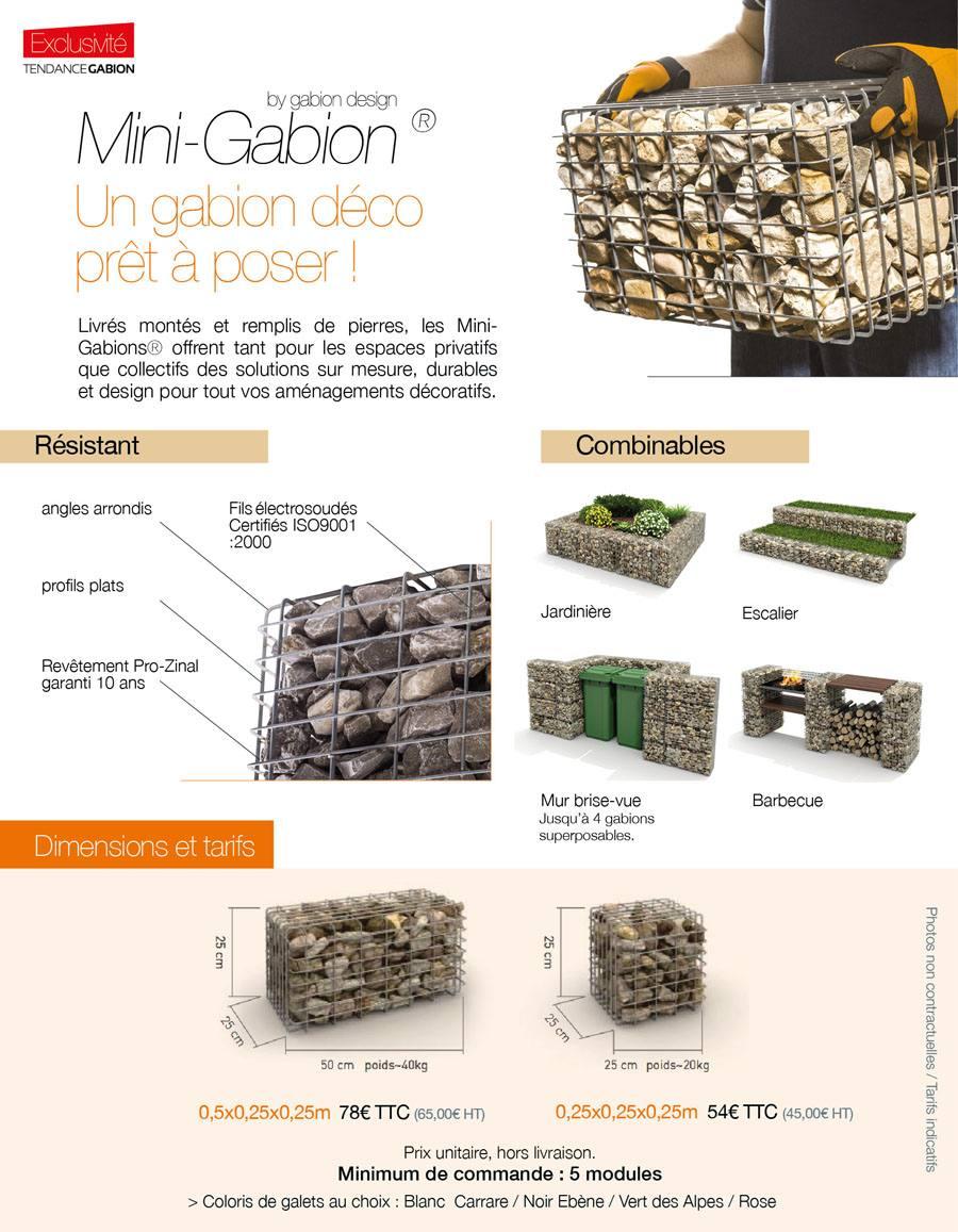 Produit : Mini-Gabion ®