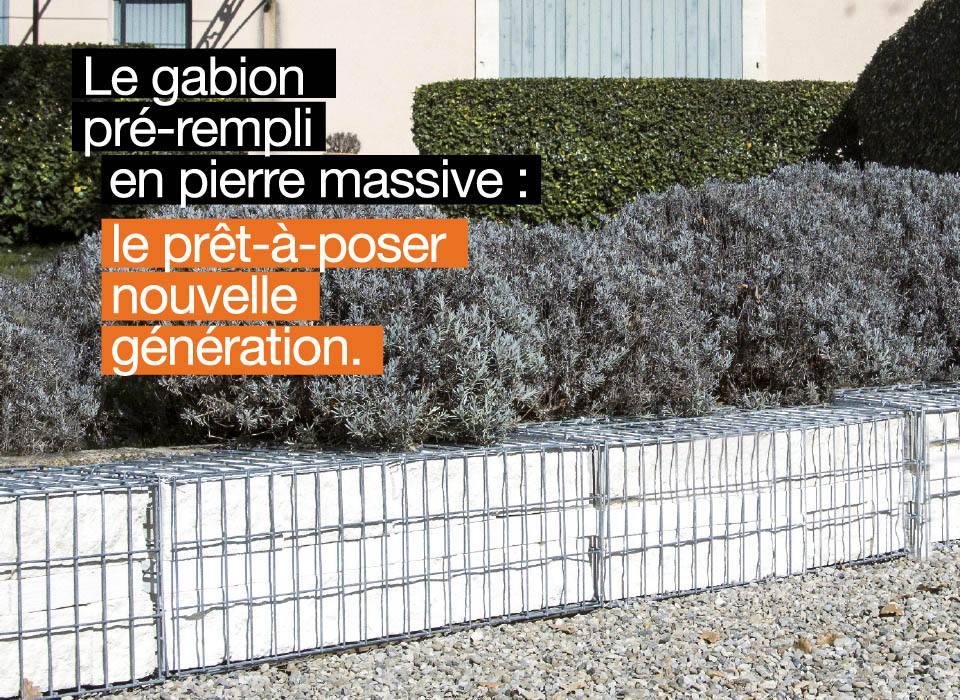 GABION-MASSIF PRE-REMPLI TENDANCE GABION