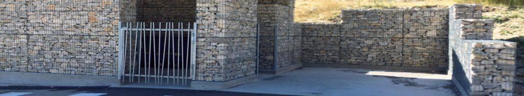 Tendance Gabion mur gabion Mont Ventoux