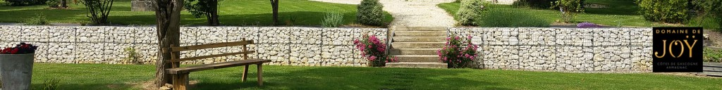 Tendance-gabion-mur soutènement Gers