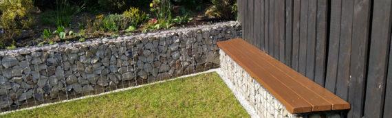 Comment installer un banc en pierre gabion chez soi ?