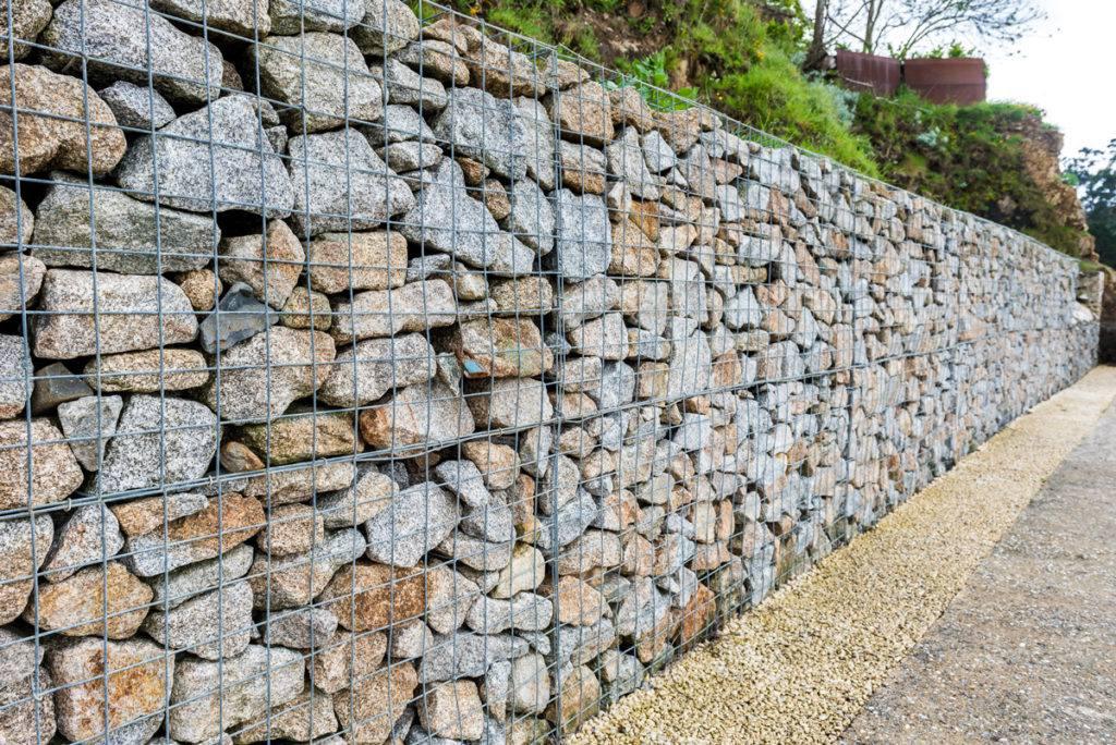 Sa propre clôture en gabion - tendance gabion